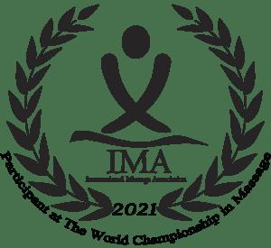Participant au Championnat du Monde de Massage 2021